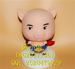 创意礼物树脂工艺品卡通超人小猪存钱罐家居摆件热销中