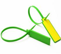 JTRFID37030 NFC NTAG215扎带标签ISO14443A电子铅封13.56MHZ高频504BIT存储NFC物流扎带