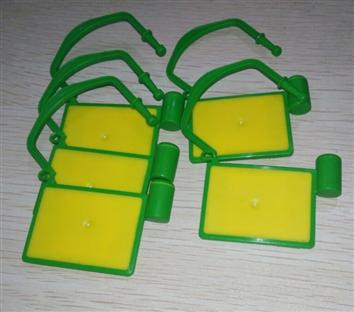 pc蛋蛋人工计划6744 UHF扎带标签ISO18000-6C电子铅封RFID物流车锁封标签
