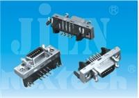 SCSI/Receptacle/PCB 90°