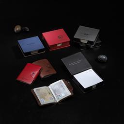 仿真皮/變色PU便簽盒 HZM-1310