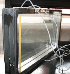電加熱玻璃