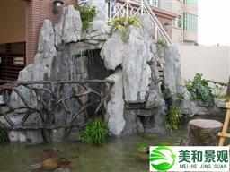 深圳室內假山