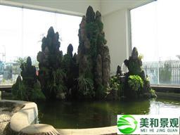 東莞室內假山制作案例