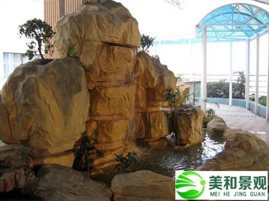惠州室內假山