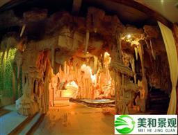深圳grc假山制作案例