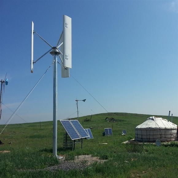 Small Vertical Wind Turbine