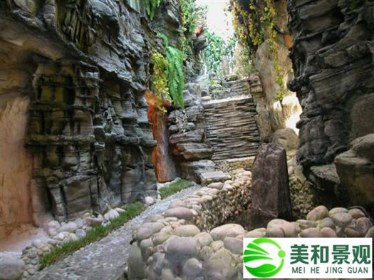 广州grc假山