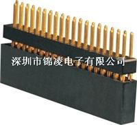 2.54mm双排母,180度,PC104