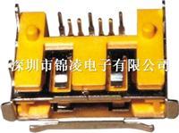 SATA 7P SMT/90° 加铜壳/加铁壳第二代