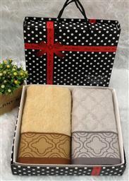 中国结竹纤维两条毛巾 -1084