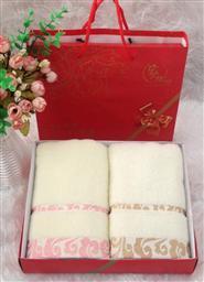 无捻纱两条毛巾-1084