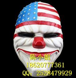 万圣节收藏版播种日2游戏舞会国旗树脂安排面具