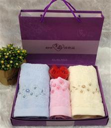 割绒三件套毛巾-1084