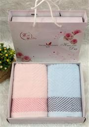 純棉兩條毛巾 -1084