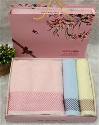 纯棉三件套毛巾 -1084