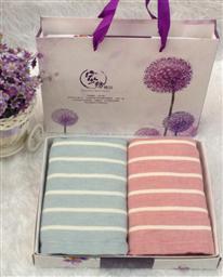 竹纤维两条毛巾 -1084