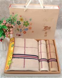 純棉三件套毛巾 -1084