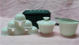 旅行茶具(纯白) -1003