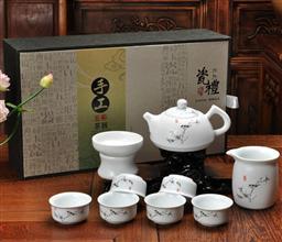 亞光—茶壺茶具 -1003