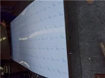 黃石201冷軋不銹鋼拉絲板