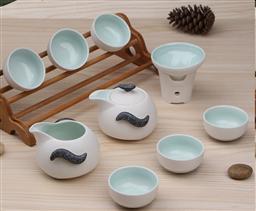8頭雪花/企鵝壺-茶具 -1003