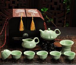 10頭梅花壺茶具 -1003