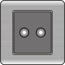 K6-YX(一位音响插座)
