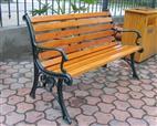 公園防腐木椅