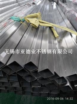 無錫304不銹鋼拉絲方管