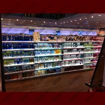 化妆品货架灯箱   化妆品货架层板灯条灯光