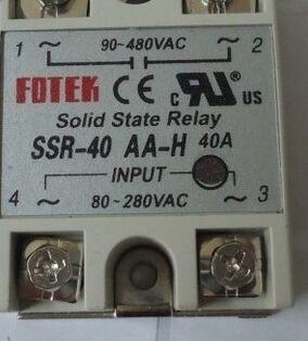 ssr-40aa-h阳明固态继电器