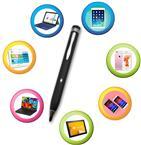 主动式0.2mm高精度电容笔ipad手写笔触控笔通用型