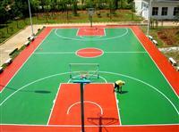 广州丙烯酸蓝球场场地材料直销硬性丙烯酸网球场专业团队施工价格实惠