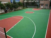 篮球场铺设