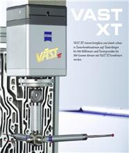 VAST XT gold主动扫描测头