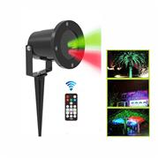 Red and green static firefly garden laser for outdoor;