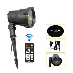 RGB static firefly garden laser for outdoor