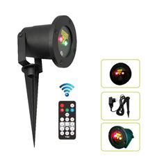 Red and green static firefly garden laser for outdoor