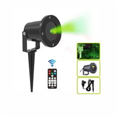 single green moving firefly garden laser for outdoor