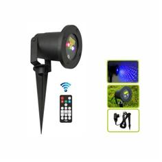 Outdoor red and blue moving firefly garden laser light