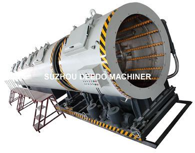 PE 1200mm Plastic Pipe vacuum tank