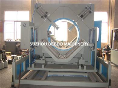 1600mm PP PE pipe cutting machine