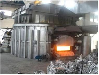 再生式节能熔炉