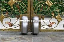 智能遥控平开门机-160[]阿尔卡诺开门机[]走轮式自动门[]别墅庭院开门机