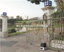 庭院别墅平移趟门机|铁艺门一字走齿条趟门机|智能遥控平移开门机