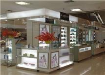 商场香水展柜