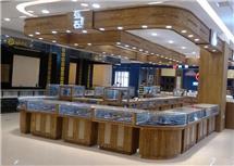 珠寶木質柜臺
