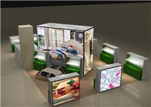 家紡用品展示柜