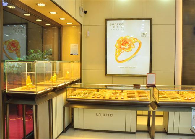 珠寶黃金展柜